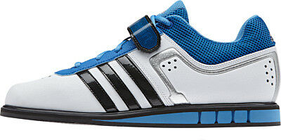 Adidas Powerlift 2.0 Mens Weight Lifting Shoes - White
