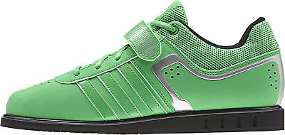 adidas Powerlift 2.0 Mens Weightlifting Shoes Green Bodybuilding Crossfit  Gym d4f8659c2