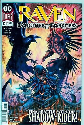 Raven: Daughter Of Darkness # 12 of 12 Regular Cover NM DC