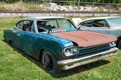 1966 Other Makes Marlin  1966 AMC Marlin Complete Part Cars (2 1966 AMC Marlin Hardtop Coupes ONE MONEY!)