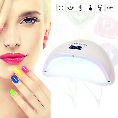 Professional SUN5 Led UV Nail Dryer Gel Polish Lamp Light Curing Machine 48W WHT
