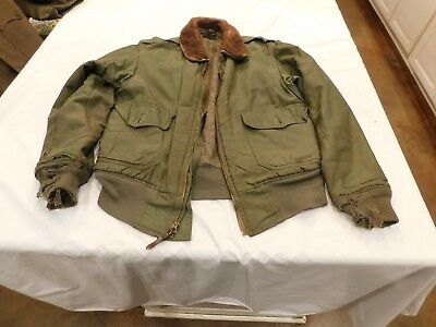 WWI USAAF Flight Jacket B 10 Stenciled Patch 36? Need attention K5849 Prop USAAF