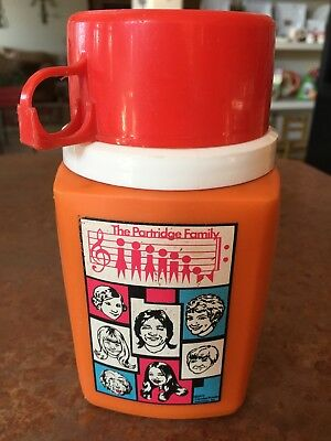 Vintage The Partridge Family  Thermos