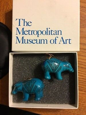 Ancient Egyptian Reproduction Hippo William Metropolitan Museum Of Art Ornaments