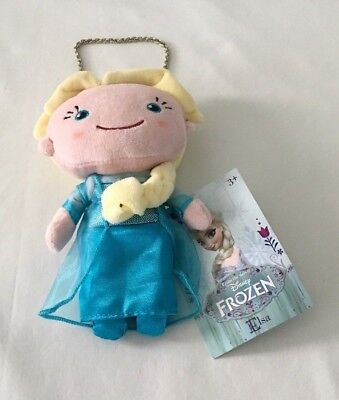 Disney Frozen Queen Elsa Plush Purse ~ Ages  3+  ~  New With Tags!
