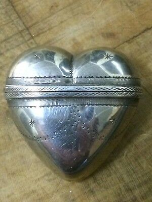 superb antique sweetheart silver snuff box 1770 decorated 18th century xviii