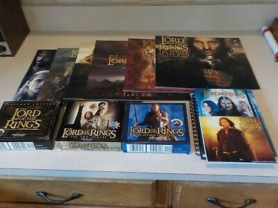 Lord Of The Rings Huge Calendar Lot Of 11