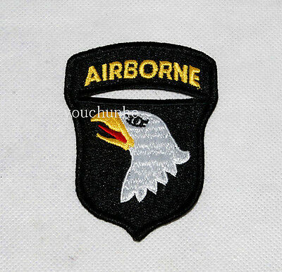 Ww2 Us Army 101St Airborne Division Paratrooper Shoulder Patch Badge -31937
