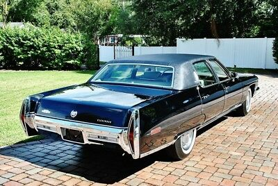 1972 Cadillac Fleetwood The best you will ever see or drive! 1972 Cadillac Fleetwood Sixty Special Brougham, 472CI, A/C, Power Windows & Lock