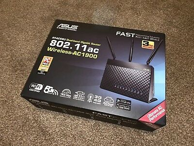 ASUS RT-AC68U Dual Band Gigabit Router Wireless-AC1900