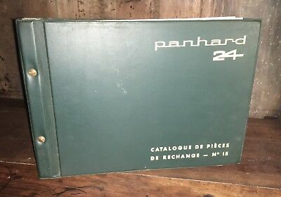 Catalogue de Pieces Panhard 24 Type N Complet