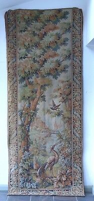 A Large & Impessive Antique Tapestry Wall Hanging  - Embroidery