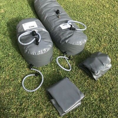 New Pvc Water Bladder 110 L Water Tank Drink Water Safe 4Wd Camping Aussie Made