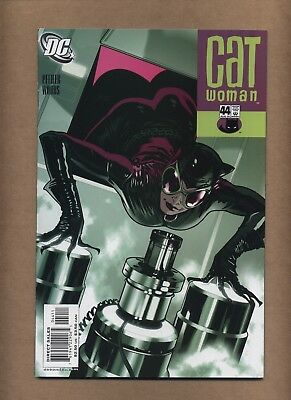 Catwoman 44 (2002, 3rd series) Adam Hughes-c begin; DC Comics; 2005 (c#21455)