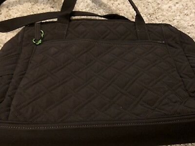 VERA BRADLEY Stroll Around Baby Diaper Bag in Espresso NWT Retail $158 #97