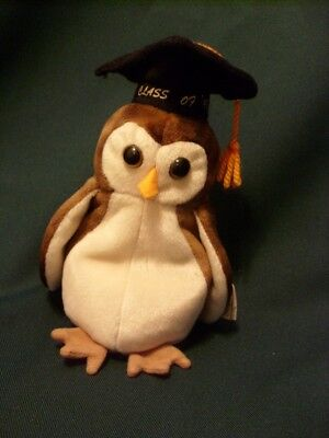 Ty Beanie Babies Wise The Owl Class Of 98