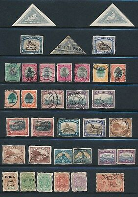 South Africa**75+ Mostly Different Mh & Used (1926-49)**; Cv $50+