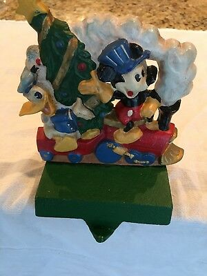 Midwest Cannon Falls Disney Cast Iron Christmas stocking holder