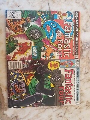 Fantastic Four #246 247 Fn+ Dr Doom 1  App Key Marvel Comics