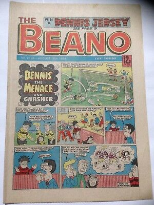 DC Thompson THE BEANO Comic. Issue 2196. August 18th 1984. **Free UK Postage**