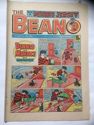 DC Thompson THE BEANO Comic. Issue 2257. October 19th 1985. **Free UK Postage**