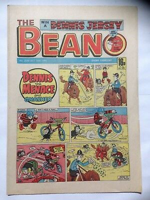 DC Thompson THE BEANO Comic. Issue 2258. October 26th 1985. **Free UK Postage**