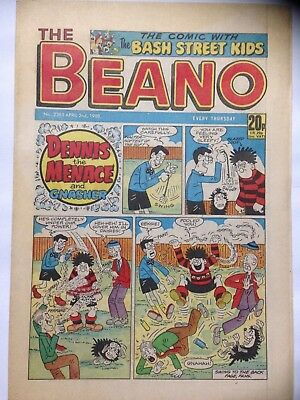 DC Thompson THE BEANO Comic. Issue 2385. April 2nd 1988. **Free UK Postage**