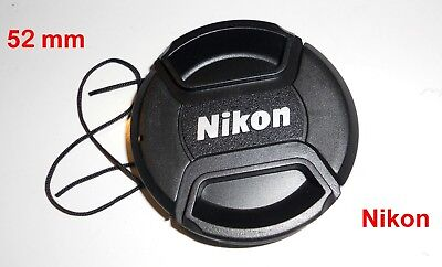 52 mm 52mm Nikon Lens cap Pinch Type LC-52 UK Seller