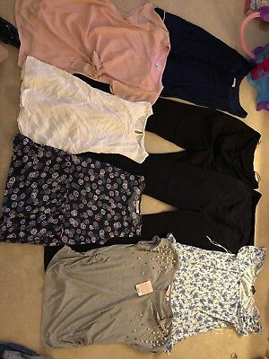 Ladies Maternity Clothes Bundle Size 10 Great Condition Next/ Jojo