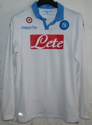 Maglia Jersey Shirt Maillot Trikot Calcio Football Soccer Napoli Naples Away Xl