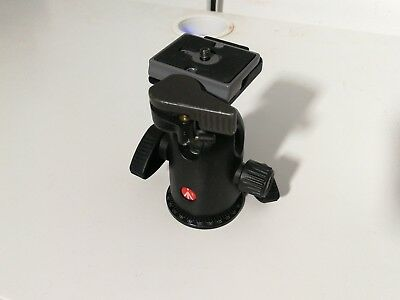 MANFROTTO 498 RC2 Ball Head with QR plate  -  pre-owned - mint condition
