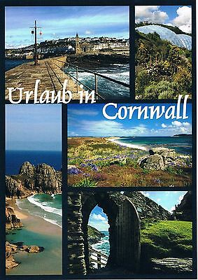 Postcard Großbritannien Great Britain Cornwall England Küste coast Atlantik AK