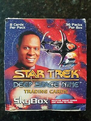 SkyBox Star Trek Deep Space Nine Trading Cards Spectra 1993 Full Box