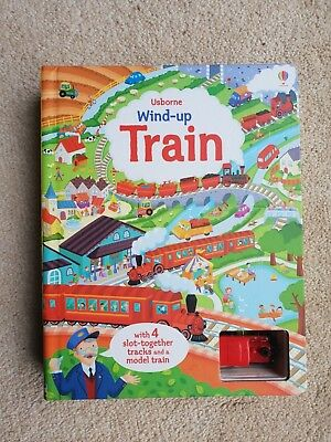 Great *Usbourne* Wind-Up Train book and puzzle