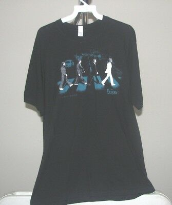 The Beatles Classic Black The Beatles Abbey Road XL T-Shirt