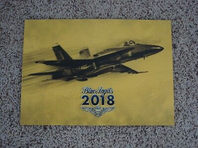 Last One!  Official 2018 Blue Angels Yearbook