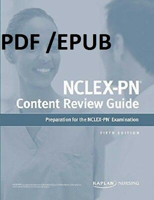 (PDF.EPUB) NCLEX-PN Content Review Guide 5 Pap/Psc Edition EB00K.