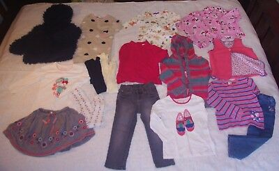 Size 3 Bulk Girls Winter clothes lot 18 pcs, Knit Jacket, Vest 6 x Pumpkin Patch