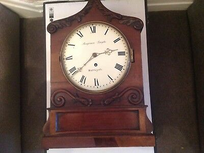 georgian. Bracket Clock