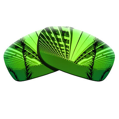 Sapphire Green Polarized Lenses Replacement For-Oakley Fives Squared Frame