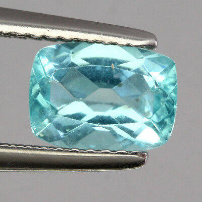 Sparkle Gem! 1.46 Ct. Antique Cut 100%natural Aaa Neon Blue Apatite Africa