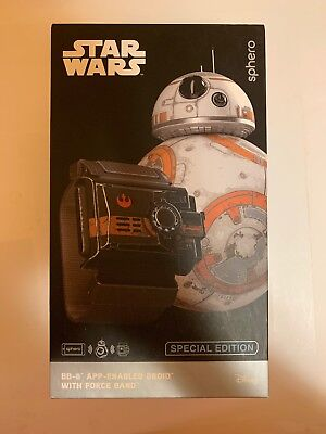 Sphero Star Wars BB-8 App Controlled Droid Robot + Force Band SPECIAL EDITION