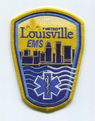 Louisville Metro Emergency Medical Services Ems Patch Kentucky Ky Ambulance Fire