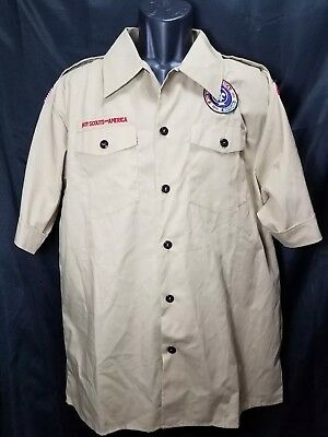 Bsa Uniform Shirt Official Boy Scouts Of America South Carolina Youth Xxl
