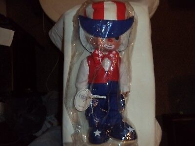 Vintage Precious Moments Doll  Clown New In Sealed Plastic