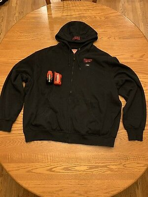 Milwaukee M12 Heated Hoodie Black 2XL Heated Gear Milwaukee Electric XXL Jacket