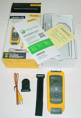 Fluke t3000FC Wireless K-Type Temperature Module