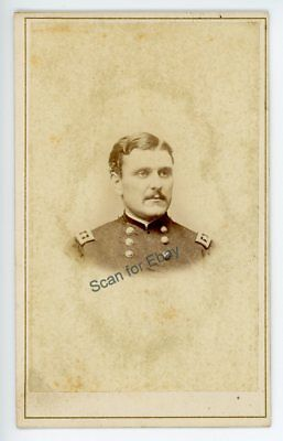 Civil War CDV Maj Gen Galusha Pennypacker Youngest Union General West Chester PA