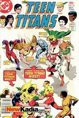 Teen Titans (1966 series) #50 in Very Good + condition. DC comics [*cz]