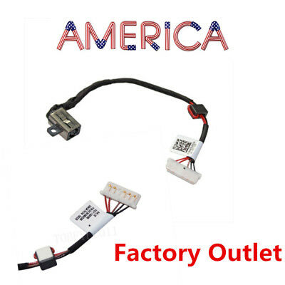 Dell Inspiron 15-5000 5555 5558 5551 5559 KD4T9 DC Power jack Charing cable Wire